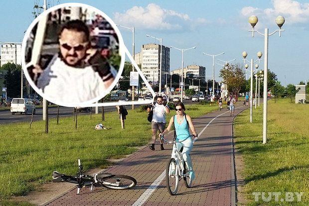 Велосипедист, избивший битой пешехода вМинске, признал всуде свою вину