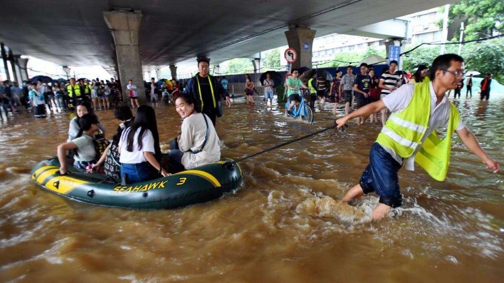 ВСеверной Корее в итоге наводнения погибли как минимум 133 человек