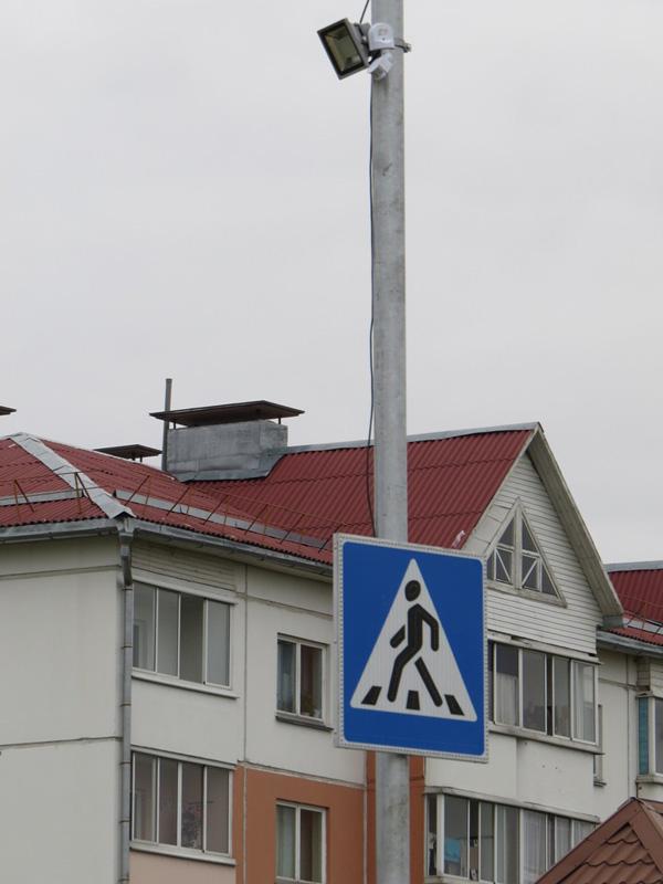 Под Витебском появился первый в области «умный» пешеходный переход, фото-1