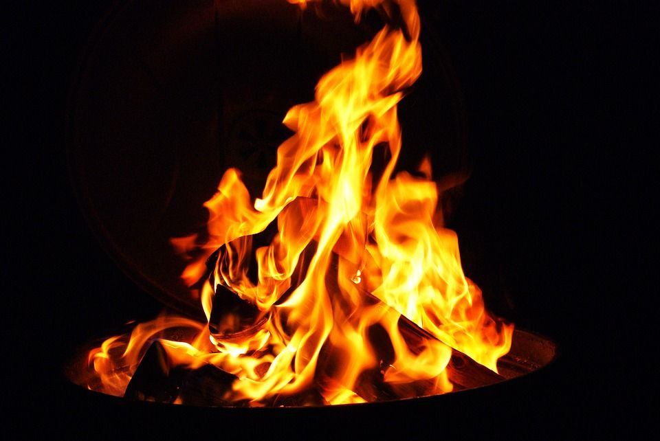 ВСлониме горел деревообрабатывающий цех