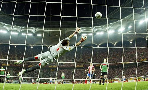 На стадионе в Бухаресте в 2012 году прошел финал Лиги Европы.