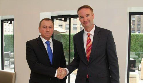 Уполномоченные республики Белоруссии иСША обсудили взаимодействие ввоенной сфере