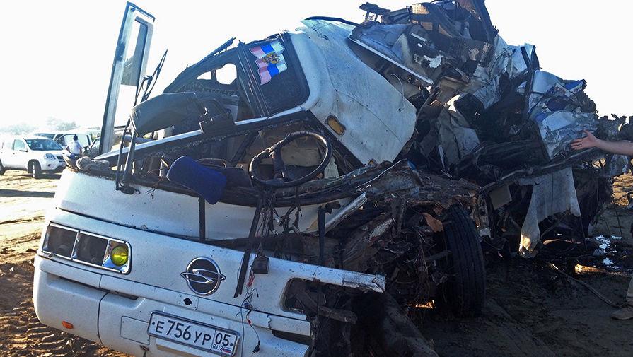 ВДТП вДагестане: девять человек погибли и27 пострадали