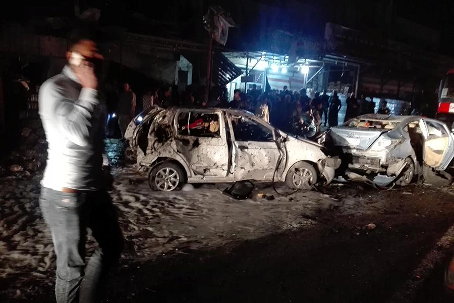 Взрыв автомобиля вБагдаде: 23 человека погибли, 45 раненых