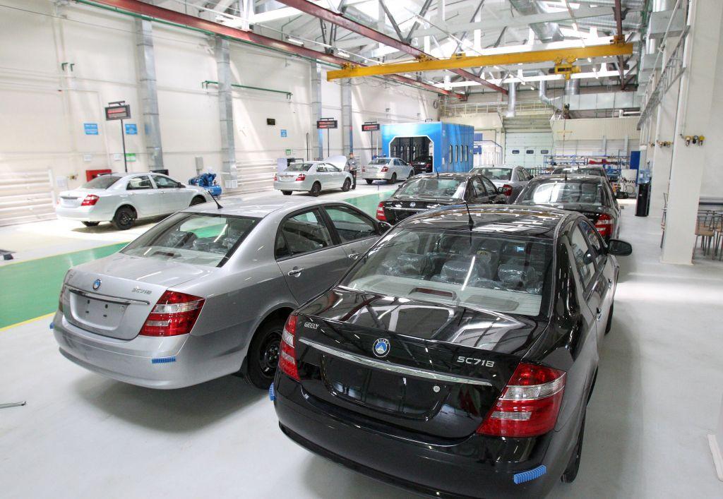 Серийное производство авто «БелДжи» начнется летом 2017 года