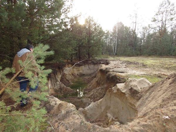 Екологи виявили незаконний видобуток піску у Голопристанському районі