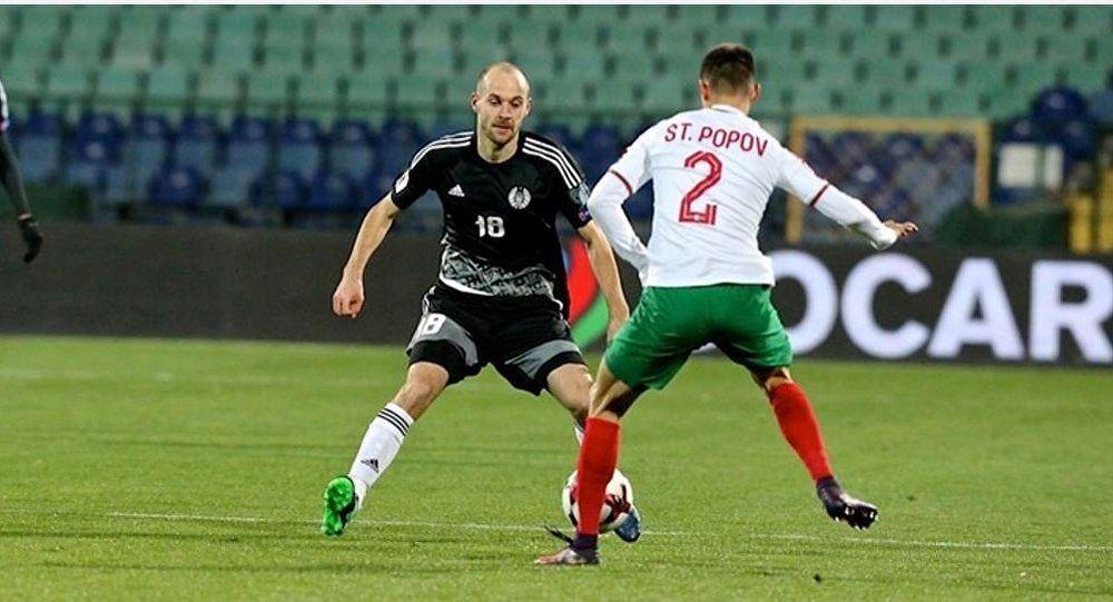 Сборная Белоруссии уступила сборной Болгарии вматче квалификации наЧМ