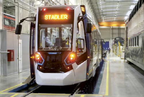 Launch of Stadler Minsk electric train production to drive forward development in Fanipol