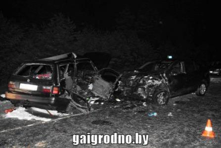 ДТП вДятловском районе: влобовом столкновении погибли два человека