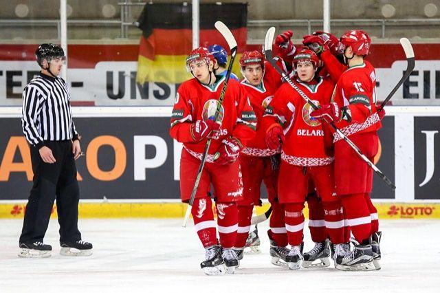 Молодежная сборная Белоруссии похоккею спобеды стартовала начемпионате мира