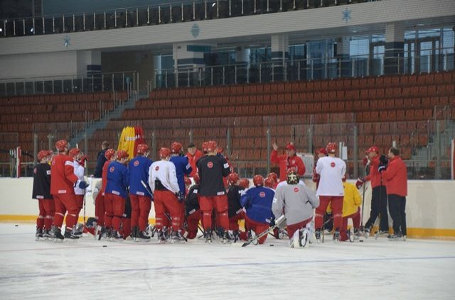 Белорусские хоккеисты разгромили словаков на«Турнире четырех»