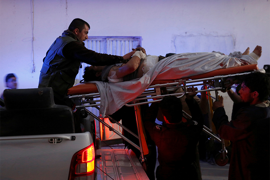 Как минимум четырех человек погибли при взрыве вафганском Кандагаре
