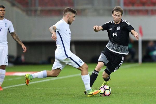 Сборная Республики Беларусь выиграла товарищеский матч усборной Греции