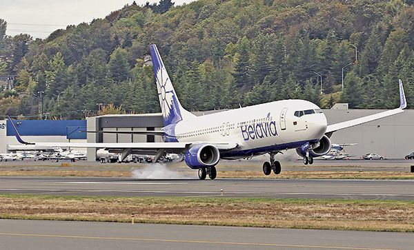 Белорусский самолет «Белавиа» вернули в государство Украину под угрозой истребителей