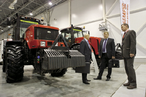 Agricultural machine building output is 'trump card' of Belarusian exports