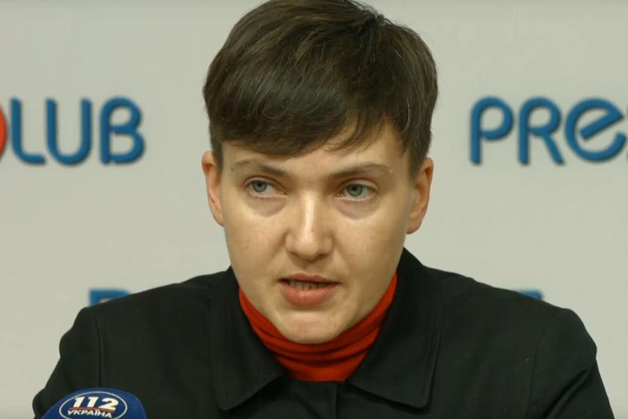 ВСБУ увидели вред от вероятной публикации Савченко списка пленных