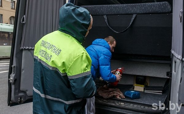 ВМинске служащих транспортной инспекции задержали завзятку