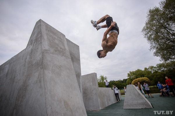 ВМинске появился парк экстремальных видов спорта