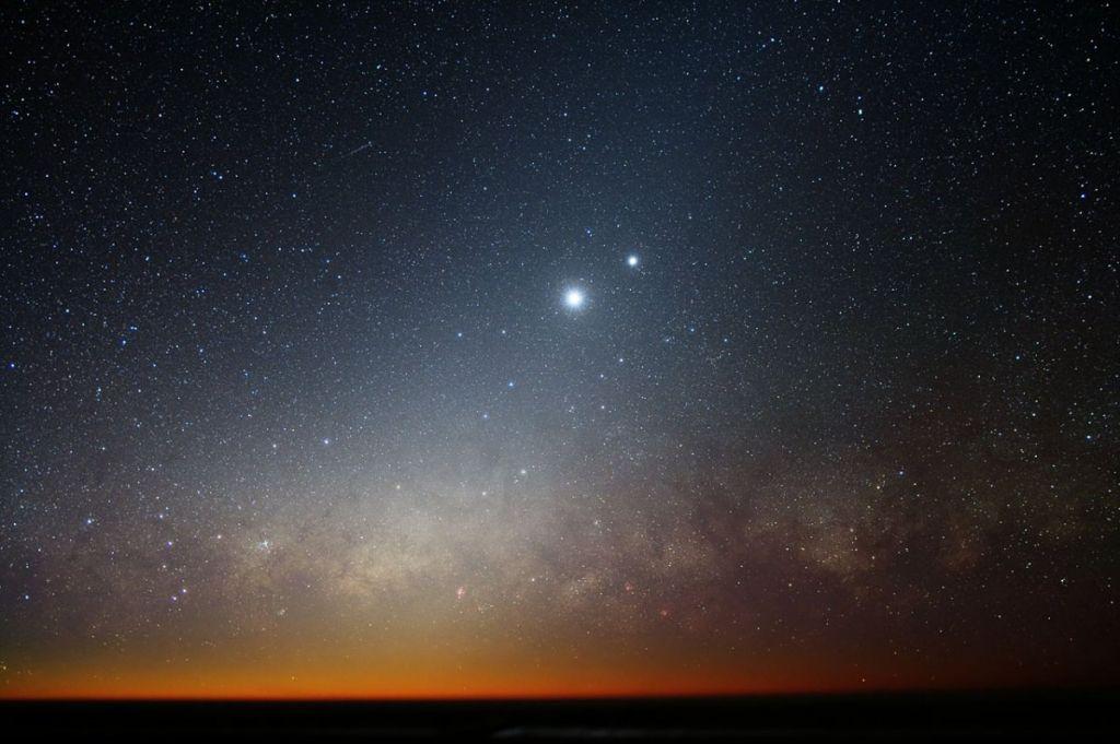 Космическая романтика: Венера иЮпитер поцелуются навыходных