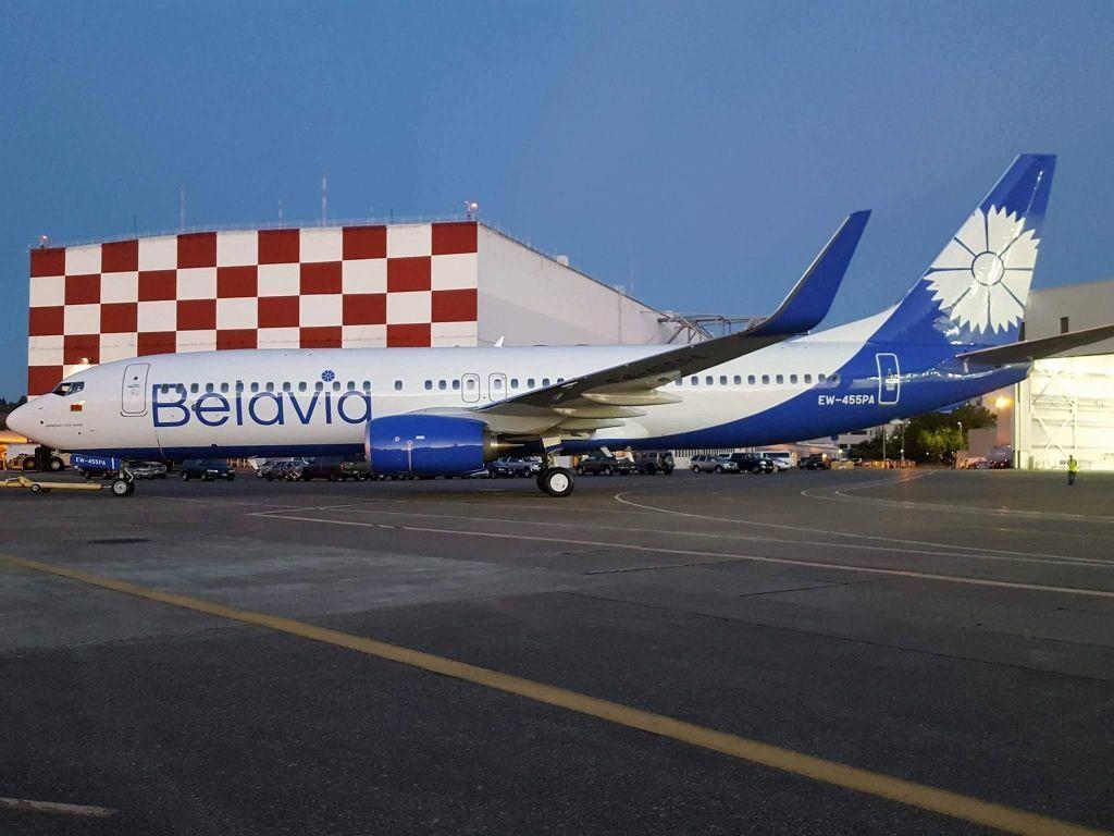 Фото самолёта «Белавиа» в новейшей ливрее появились вweb-сети интернет — Василек