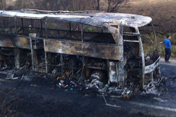 ВБразилии автобус столкнулся с фургоном: 20 человек погибли