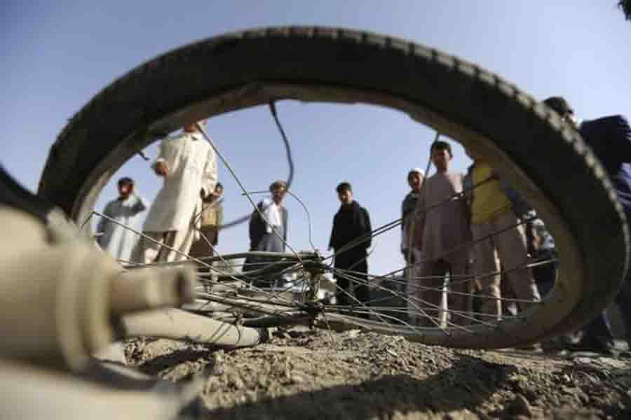 В итоге взрыва убанка вАфганистане погибли семь человек