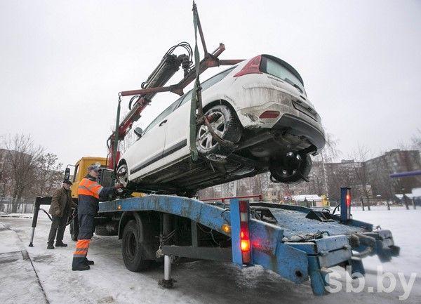 Стоимость принудительной эвакуации автомобиля возросла вМинске