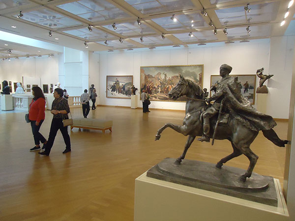 Exposition at the National Art Museum