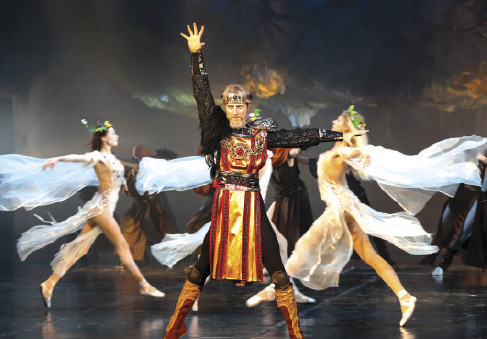 Prince Vytautas ballet on Bolshoi Opera and Ballet Theatre stage