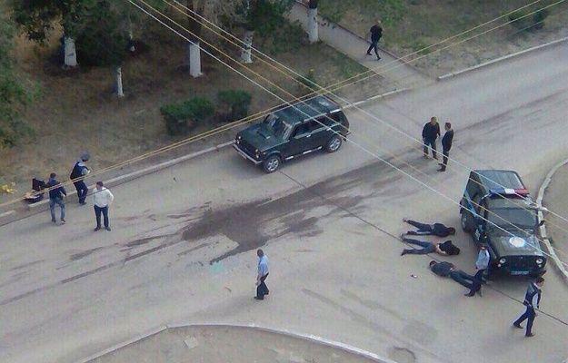 Появилось видео специализированной операции с стрельбой — Теракты вКазахстане