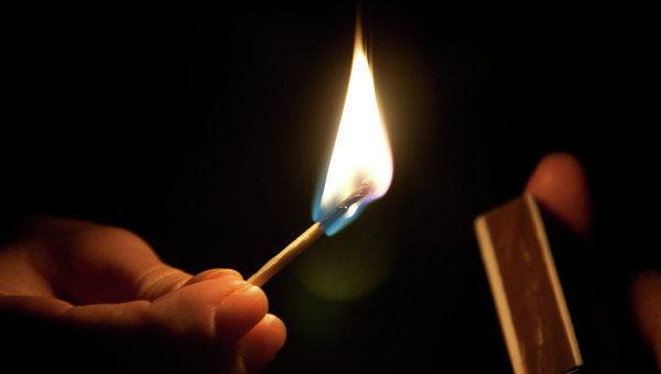Из-за шалости ребенка с огнём чуть непогибла его мать