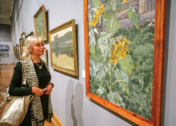 National Art Museum offers unique chance to enjoy artistry of six painters across four generations
