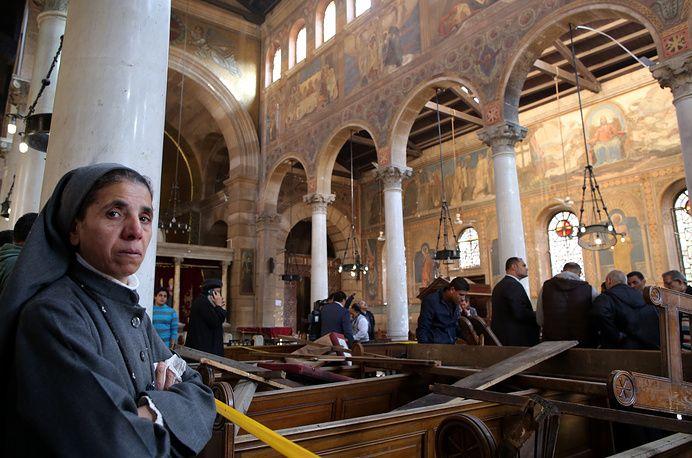 Исламские террористы взяли насебя ответственность затеракт вКаире