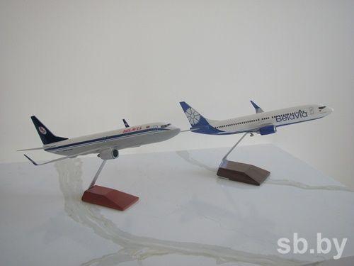 Новый Boeing свасильком прилетел вМинск