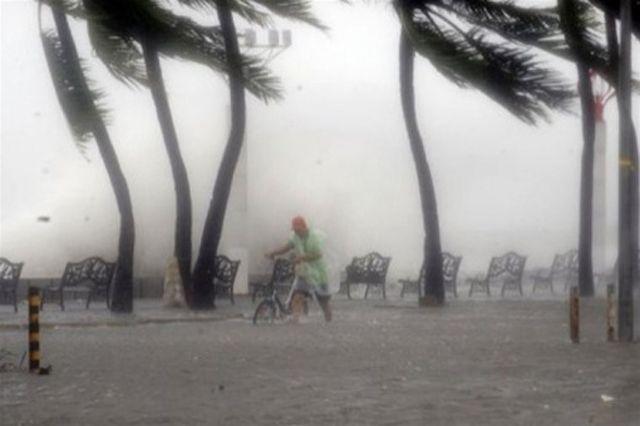 Воздушное пространство Японии закрыто из-за бушующего тайфуна «Чаба»