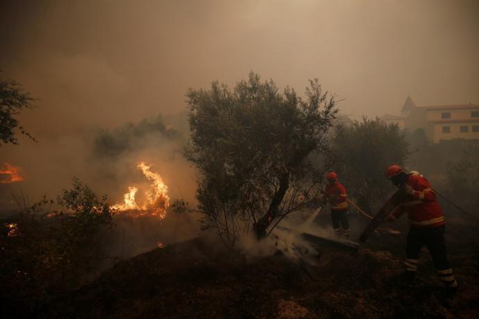 ВПортугалии из-за пожаров эвакуированы несколько тыс. человек