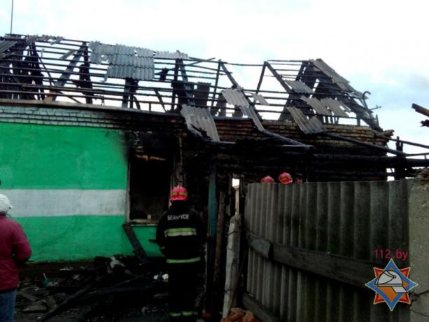Шесть человек погибли данной ночью впожаре вКричеве