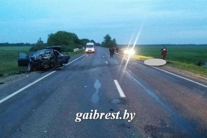 ВИвановском районе два водителя погибли влобовом столкновении