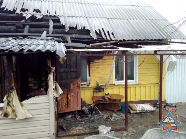 Шесть человек погибли напожаре вКричеве вМогилевской области