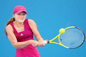 Александра Саснович закончила акция бери турнире во Цинциннати