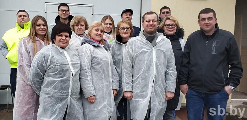 Группа белорусских агроменеджеров и ученых изучала в Украине опыт органического земледелия