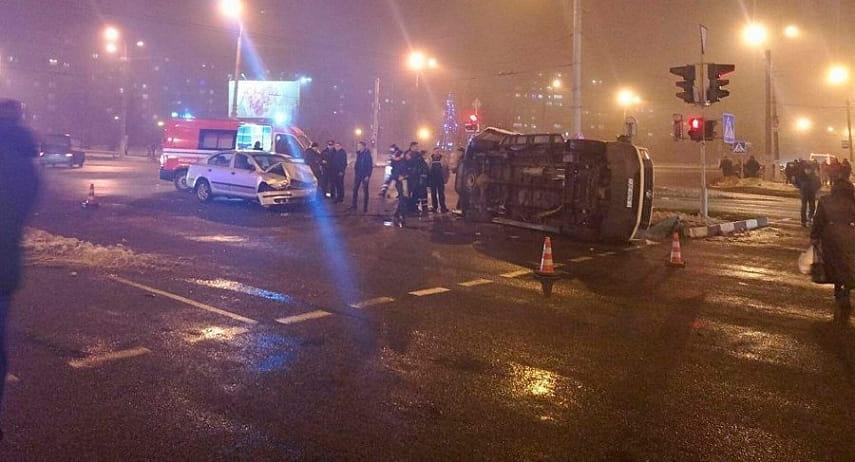 Авария с машиной скорой помощи