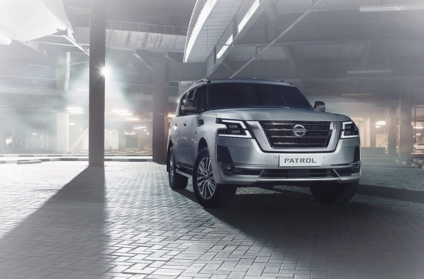 Nissan представил обновленный Patrol