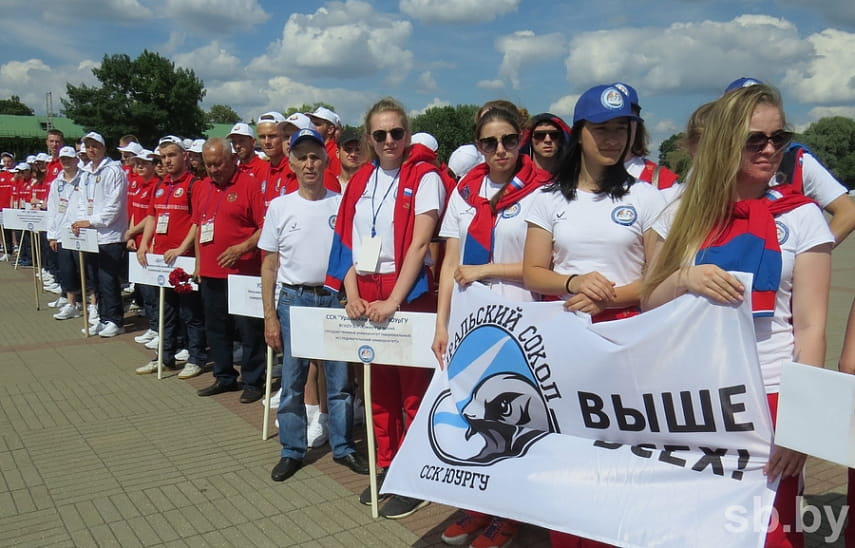 В Бресте началась спартакиада студенческой молодежи Союзного государства