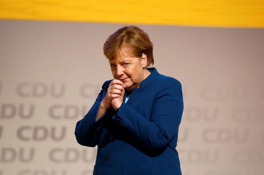 Ангела Меркель сообщила , чтоЕС несможет себя защитить без НАТО