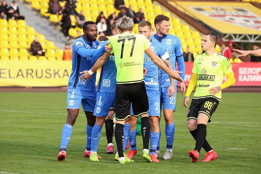 Брестское «Динамо» в крайне драматичном матче уступило в Солигорске «Шахтеру», но вышло в финал Кубка Беларуси по футболу