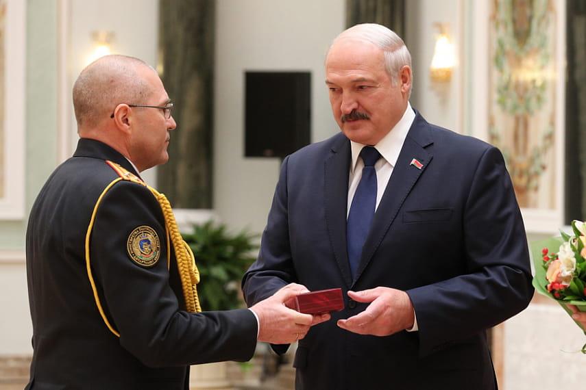 награда зюганову от лукашенко фото реакция