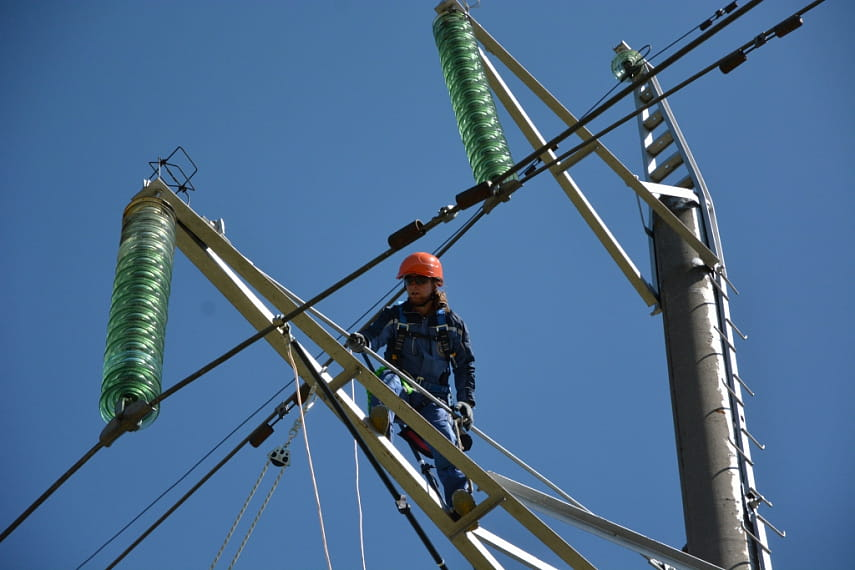 В Брестской области обновят 977 километров распределительных электрических сетей до 2025 года