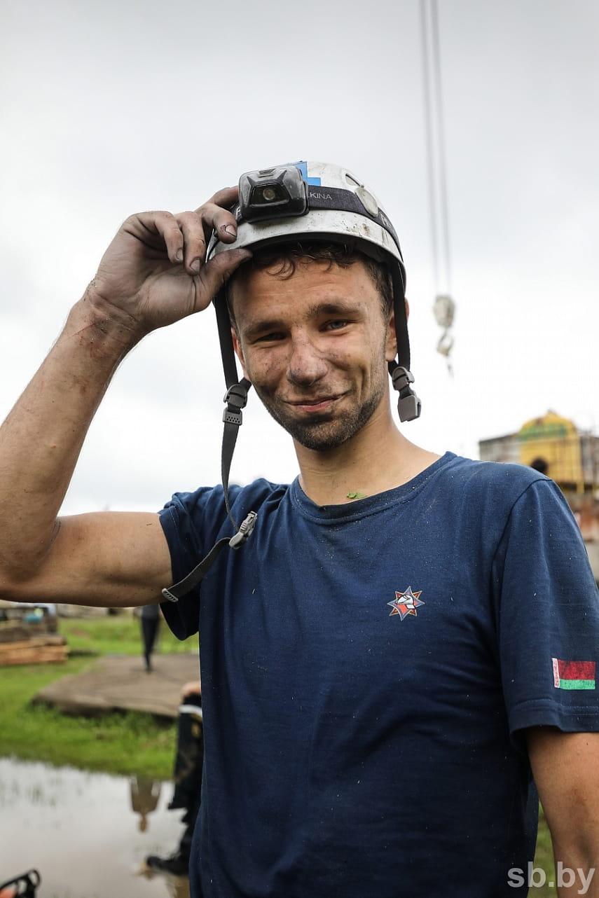 Как проходят соревнования по многоборью спасателей под Борисовом 2