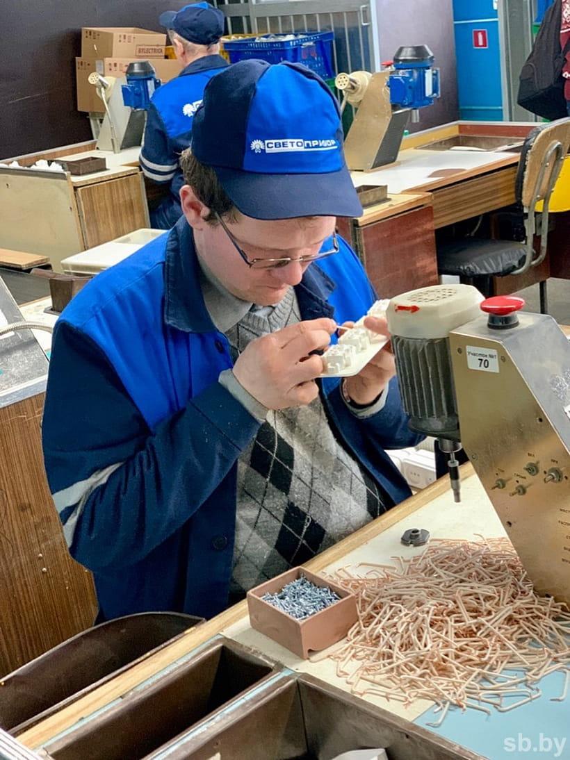 В Беларуси инвалидам по зрению помогают с трудоустройством 2